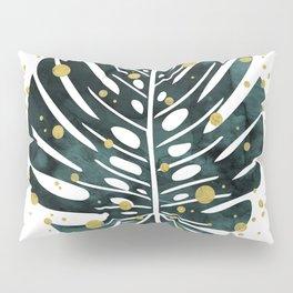 Holiday Monstera Pillow Sham