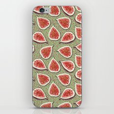 Figs Pattern iPhone Skin