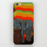 african iPhone & iPod Skins featuring African Elephant by Ben Geiger