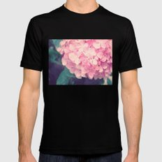 Pretty in Pink Mens Fitted Tee Black LARGE