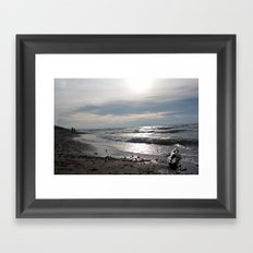Contrawave Framed Art Print