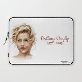 Brittany Murphy Laptop Sleeve
