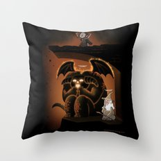 Wizardly Shenanigans Throw Pillow