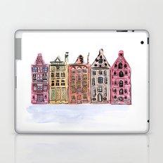 Coloured Houses Laptop & iPad Skin