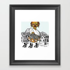 Lost Childhoods Framed Art Print