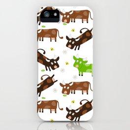 Cow Pattern | Cow Spots Farm Farmer Animal Milk iPhone Case