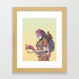 B.E.L.E Framed Art Print