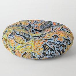 Bird in Tree #1c Floor Pillow