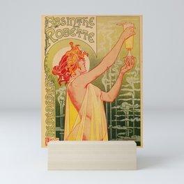 Classic French art nouveau Absinthe Robette Mini Art Print