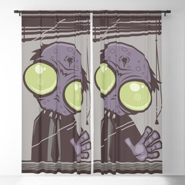 Office Zombie Blackout Curtain