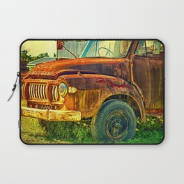 Old Rusty Bedford Truck Laptop Sleeve