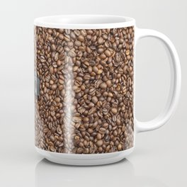 Coffee grains & Tiny Tiny Camera Coffee Mug