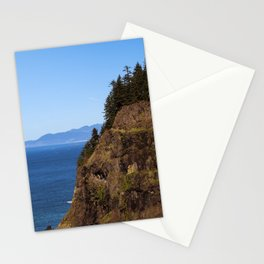 Where the Trees Meet the Sea Stationery Cards