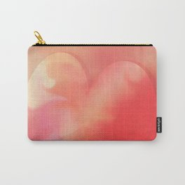 Heart pink smoothie Carry-All Pouch
