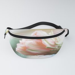 Beautiful cactus pink flower Fanny Pack