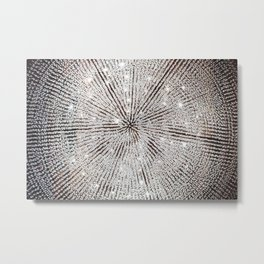 Chandelier Metal Print
