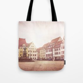 Freiberg, Germany Town Square Tote Bag