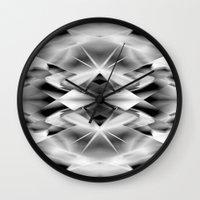 kaleidoscope Wall Clocks featuring Kaleidoscope by Assiyam
