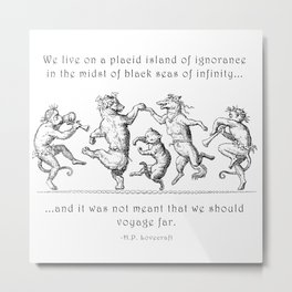 Island of Ignorance Metal Print