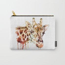 Giraffe Head Carry-All Pouch