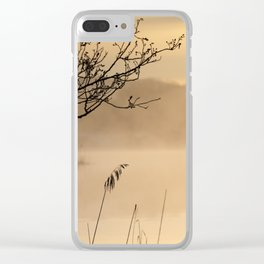 Blissful Tranquility Clear iPhone Case