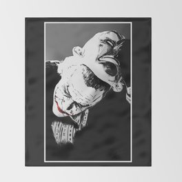 Man Behind The Mask Throw Blanket