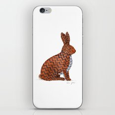 zig zag rabbit iPhone & iPod Skin