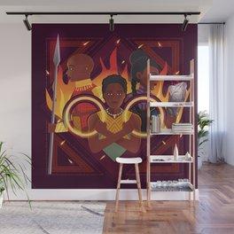 Women of Wakanda v2 Wall Mural