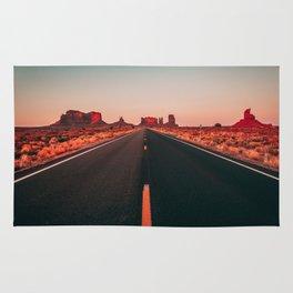 Lost highway Rug