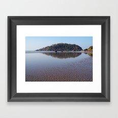 Across the Water to Monkey Island, Palolem Framed Art Print