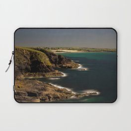 Trevose Head to Constantine Bay, Cornwall, UK Laptop Sleeve