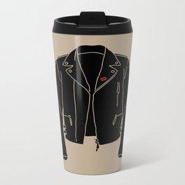 Leather Jacket - HANDSOME DEVIL'S CLUB (3/3) Metal Travel Mug
