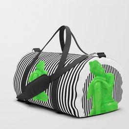 My  inner Green Buddha | Namaste Pop Art Buddha Duffle Bag