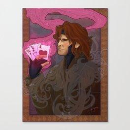 Art Nouveau Thief Canvas Print