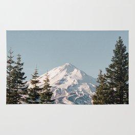 Mt Shasta Morning Rug