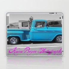 Blue Vintage Laptop & iPad Skin