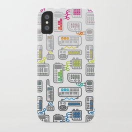 Electronica iPhone Case