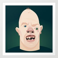 goonies Art Prints featuring The Goonies by Brettmatic