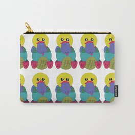Rainbow Platypus Carry-All Pouch