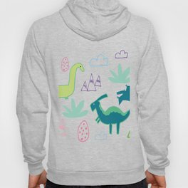 Dino Fun land Grey Hoody