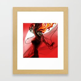Pepper Groove Framed Art Print
