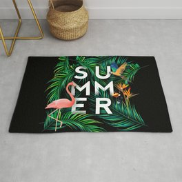 Summer Jungle Rug