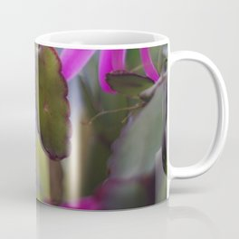 Magenta Blooming Cactus Coffee Mug