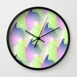Spring Puddles... Wall Clock