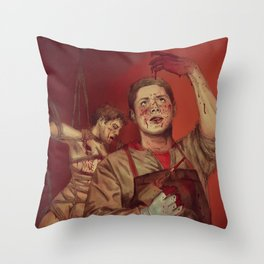 The essence of silence Throw Pillow