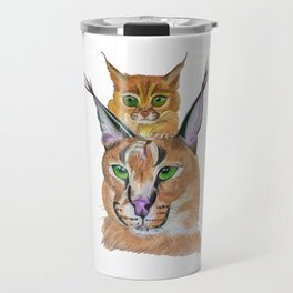 Caracals Travel Mug