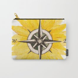Compass  Sunflower Carry-All Pouch