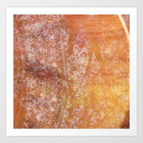 Fall Sweater Art Print