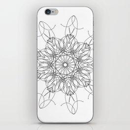 mandala art - peace iPhone Skin