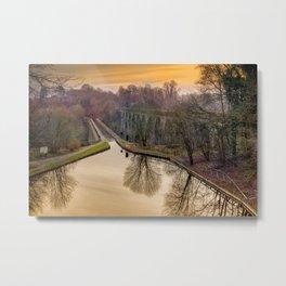 Chirk Aqueduct Metal Print